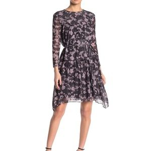 Rebecca Minkoff Jojo Floral Tiered Dress Size 4